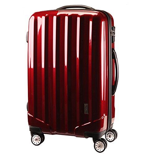 TSAロックスーツケース 4輪 ダブルキャスター KT523FCX 先上げ品 容量UP YKKダブルファスナー 軽量 旅行カバン キャリーケース 旅行用品 国内海外 修学旅行 海外留学 ビジネスバック キャリーバック S M L 小型 中型 大型 (S 小
