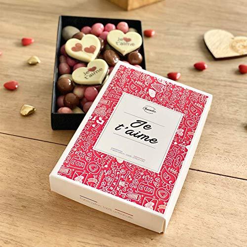 CHOCOLAT SAINT VALENTIN 'Je t'aime mon amour' - COFFRET...
