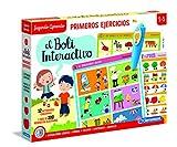 Clementoni-55318 - Boli Interactivo Primeros Ejercicios - juego educativo con boli electrónico a partir de 3 años