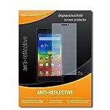 2 x SWIDO® Protector de pantalla Lenovo K6 Note Protectores de pantalla de película 'AntiReflex' antideslumbrante