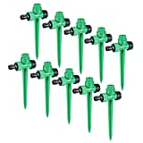 Sourcingmap ABS Plastic Spike Base with 1/2 Inch BSP for Impact Sprinkler Heads