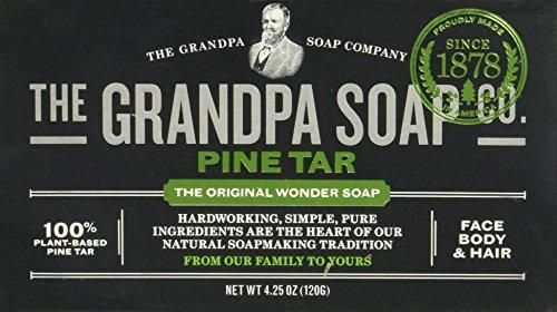 Grandpas Pine Tar Soap, 4.25 Ounce