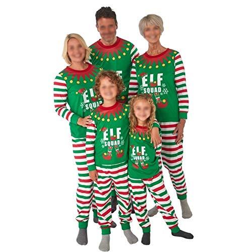 Christmas Family Matching Pajamas Set Christmas Elf...