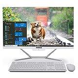 PC de Escritorio Todo en uno con Windows 10, 8th Gen Core i7 8565U, 16G RAM 1TB SSD, Salida HDMI/VGA 4K, WiFi, BT, Windows 10 Pro, Teclado y Mouse inalámbricos