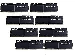 G.SKILL 128GB (8 x 16GB) TridentZ Series DDR4 PC4-28800 3600MHz for Intel X299 Platform Desktop Memory Model F4-3600C17Q2128GTZKK