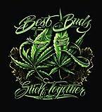 Best Buds Stick Together 79' x 95' Luxury Plush Signature Series Blanket