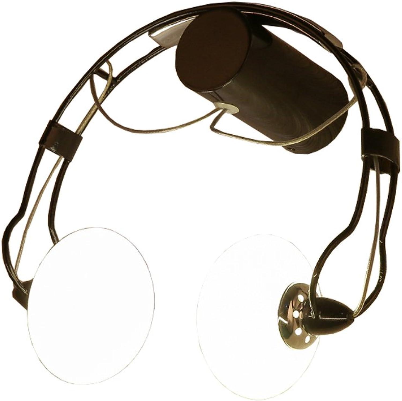 Moderne Einfache Headset Eisen Kunst Wandleuchte Wohnzimmer Schlafzimmer Glas Führte Wandleuchte Kreativitt Gang Kinderzimmer Headset Thema Lampe (Farbe   Schwarz)