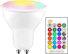 RGBW LED Bulb, 8W Led Light Bulb, Color Changing Light Bulb, Dimmable RGB Recessed Lighting, for Home, Party