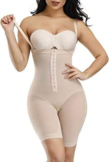 Wonder-Beauty Women Shapewear Firm Control Bodysuit Butt Lifter Body Shaper Body Briefer Waist Cincher Corset