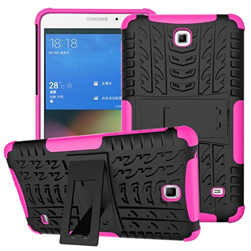 Awesome Armor Foldable Movie Stand Slim Cover, TAITOU New Ultra Hybrid 2-in-1 Thin Anti Scratch Drop Outdoor Sport Protect Tablet Case voor Samsung Tab4 T230 7