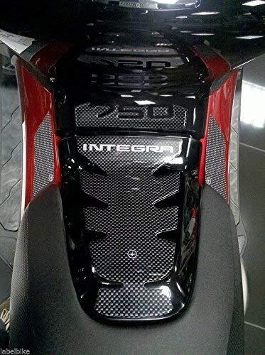 PROTECCIÓN Central DE TÚNELES Adhesivo de Resina 3D Compatible con Honda Integra 750