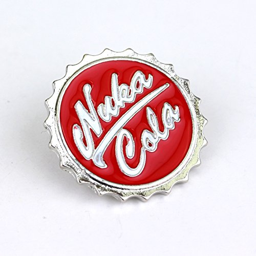 Nuka Cola Fallout Cosplay Metal Pin Badge