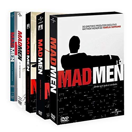 Coleção DVD Mad Men 1ª a 5ª Temporada (20 Discos)