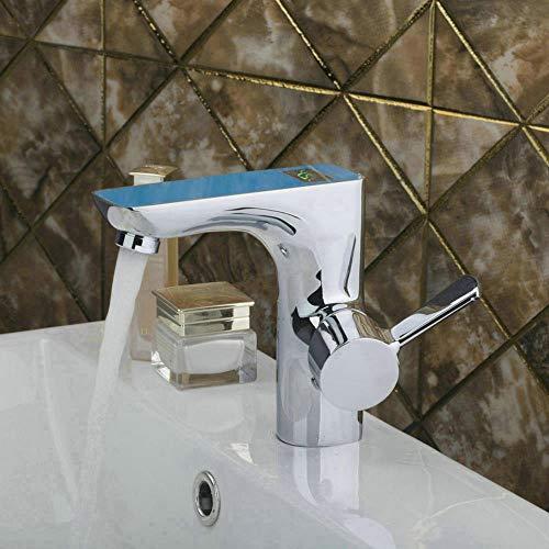 LLLYZZ nieuwe digitale weergave aantal badkamer kraan wastafel mixer Hot & Cold waterkraan eenhand