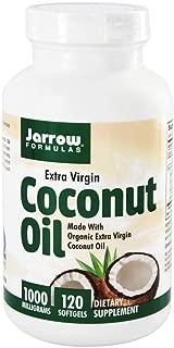 Jarrow Formulas ココナッツオイル エキストラバージン 1000 mg ソフトジェル 120 粒