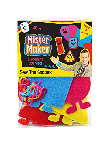 Mister Maker 88469 The Shapes Sewing Kit