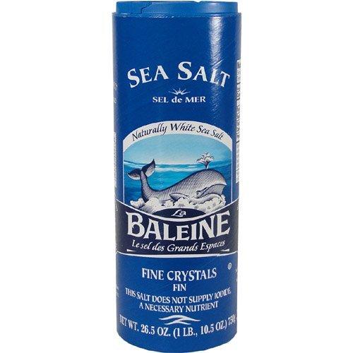 La Baleine · French Fine Sea Salt · 750g - 26.5 Oz ( Pack of 2)