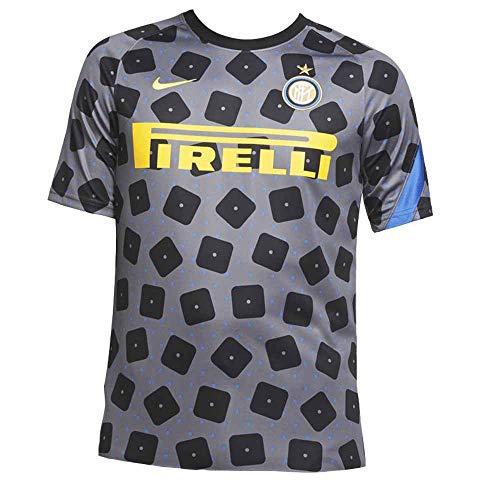 Nike 2020-2021 Inter Milan CL Pre-Match - Camiseta de entrenamiento (gris)