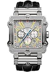 ساعة فانتوم 238 لوكسوري الماس كرونوغراف من جيه بي دبليو