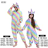 Czc-dp Cartoon Kostüme Winter-Tier-Strampler Kids Pyjamas Nachtwäsche for Frauen Erwachsener Baby-Kleidung Jungen Nachtwäsche Overalls (Farbe: 3 2, Größe: 18)
