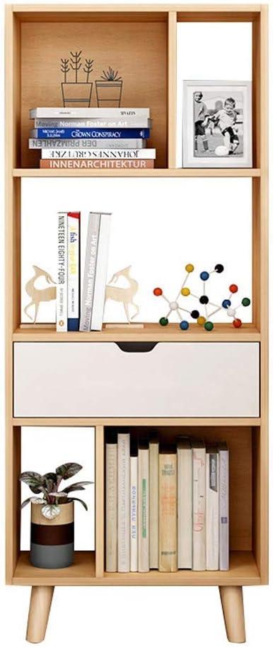YINGGEXU Bargain Clothes Rack Regular store Bookcases Small Floor-Standing Bookshelf S