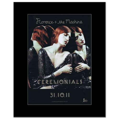 FLORENCE AND THE MACHINE-Ceremonials Poster, Miniposter, matt, 28,5 x 21 cm