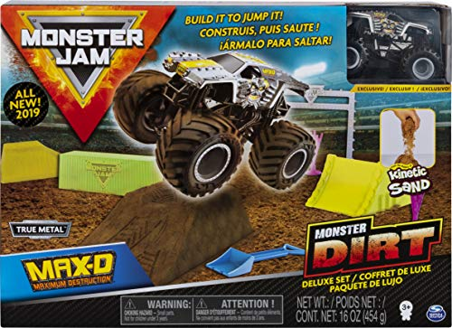 MONSTER JAM Max-D Monster Dirt Deluxe Set 1:64 6053299 - Spinmaster