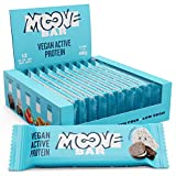 Moove - Barrita de proteínas vegana, sabor a galletas de vainilla