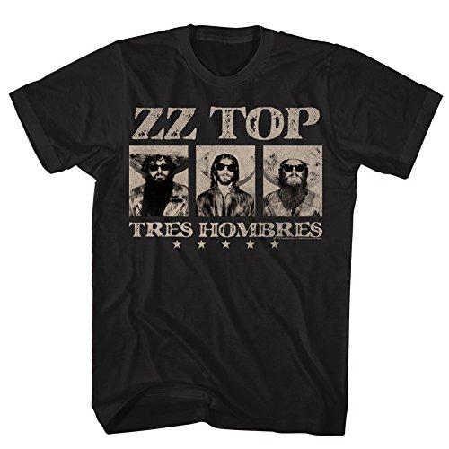 T-shirt ZZ Top- Tres Hombres XXL - Black