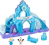 Little People GGV29 Fisher-Price Disney Frozen Elsa's Ice Palace, Juego Musical Iluminado, Multicolo...