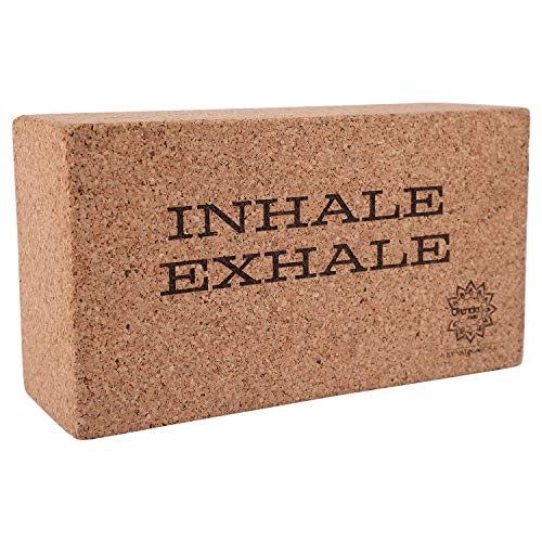 ORENDA INDIA Cork Yoga Block