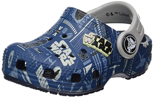 Crocs Classic Star Wars Graphic Clog Kids, Zoccoli Unisex-Bambini, Blu (Navy), 20/21 EU