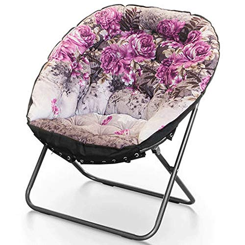 HS-01 Chaise Saucer Garden Chair Fauteuil Inclinable Fauteuil Inclinable (Color : Multi-colored1)