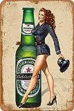 Cimily Heineken Beer Poster Vintage Blechschild