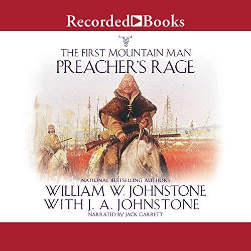 Preacher's Rage audiobook cover art