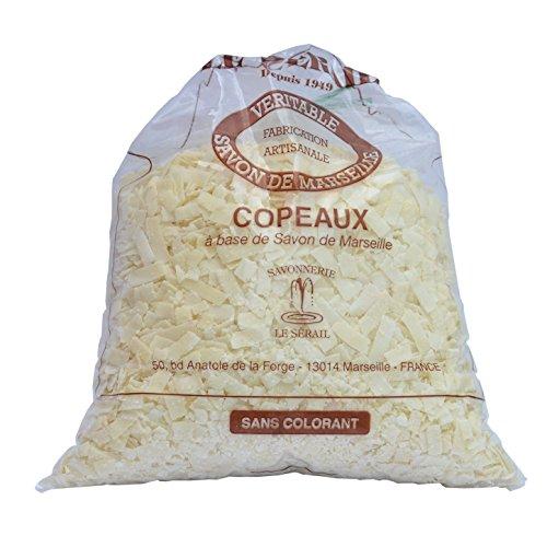 Copos de jabón de Marsella, 1 kg – aroma de flor de...