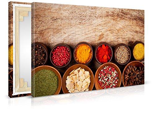 XXL-behang canvasfoto Spicy - reeds opgespannen - schilderijen, kunstdruk, muurschildering, spieraam, afbeelding op canvas van trendmuren
