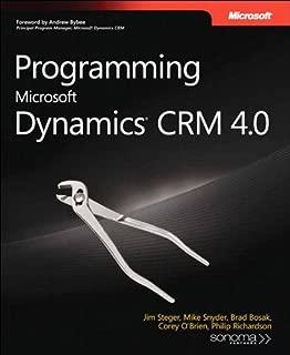 Programming Microsoft Dynamics CRM 4.0 (Developer Reference)