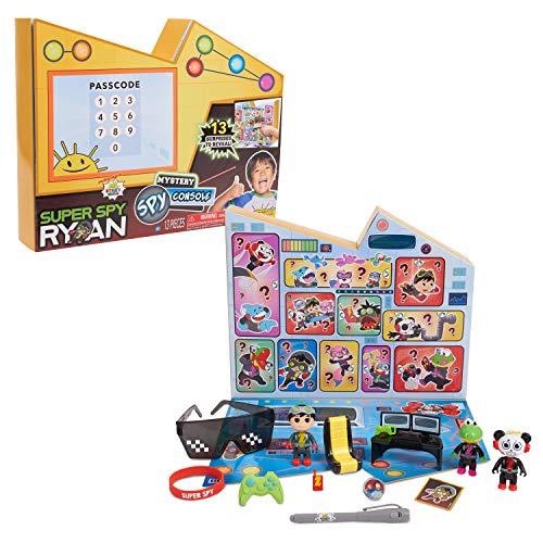 RYAN'S WORLD Super Spy Ryan Golden Console, 13 Surprises Inside, Amazon Exclusive