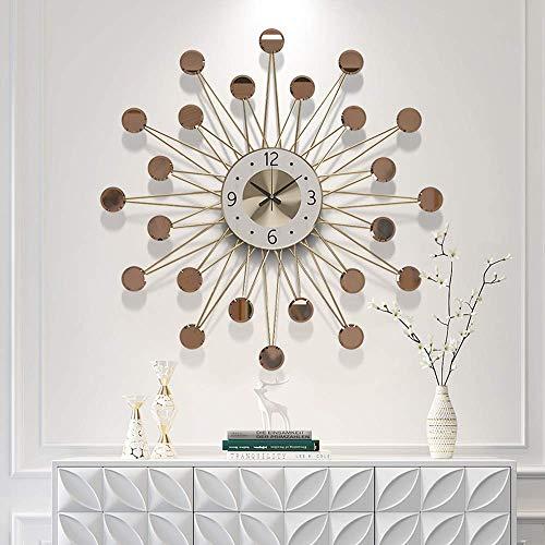 Miwaimao Orologio da parete di grandi dimensioni per soggiorno, decorazione della casa, stile nordico creativo, orologio da parete moderno, 62 cm / 70 cm (taglia 70 cm)