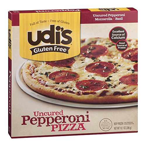 Udi's Gluten Free Pizza, Pepperoni, 10.10 Ounce (Pack of 6)