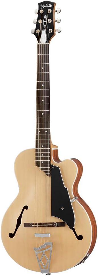 VOX VGA-3PS-NA - Guitarra semi-Acustica, color natural
