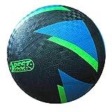 Best Sporting Barfuß-Fußball Glow In The Dark, Ball leuchtet im Dunkeln, Farbe: schwarz-blau Größe 5