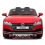 cristom–Coche eléctrico 12V para niños–License Volkswagen Arteon–Mando a...