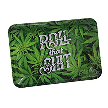 Acclaim Rolling Tray  Roll That Shit  7 x 5in