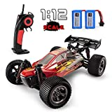 RC Cars, GPTOYS Remote Control Car 2.4Ghz Off-Road Dual Batteries, Hobby Grade Truck 1/12 Scale Vehicle for Adults Kids