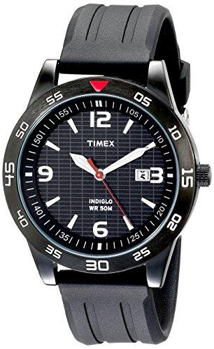 Timex - T2N694D7 - Timex Urban Men Sport - Montre Homme - Quartz Analogique - Cadran Noir - Bracelet...