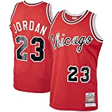 DIMOCHEN Movement Ropa Jerseys de Baloncesto para Hombres, NBA Chicago Bulls 23# Jordan, Fresco, cómodo, Camiseta Uniformes Deportivos Tops(Size:S,Color:G1)