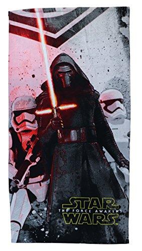 Halantex Sp Toalla Playa Star Wars 4, 100% Poliester Microfibra, Color Uníco, 70 x 140 cm