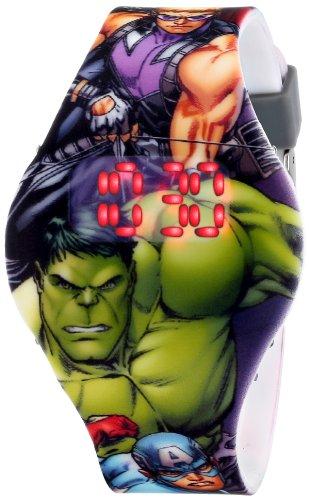 Marvel The Avengers Kids AVG1518 Digital Display Analog Quartz Grey Watch